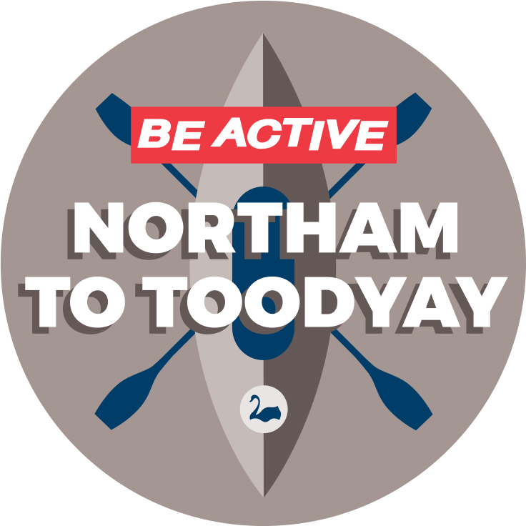 Be Active Northam to Toodyay